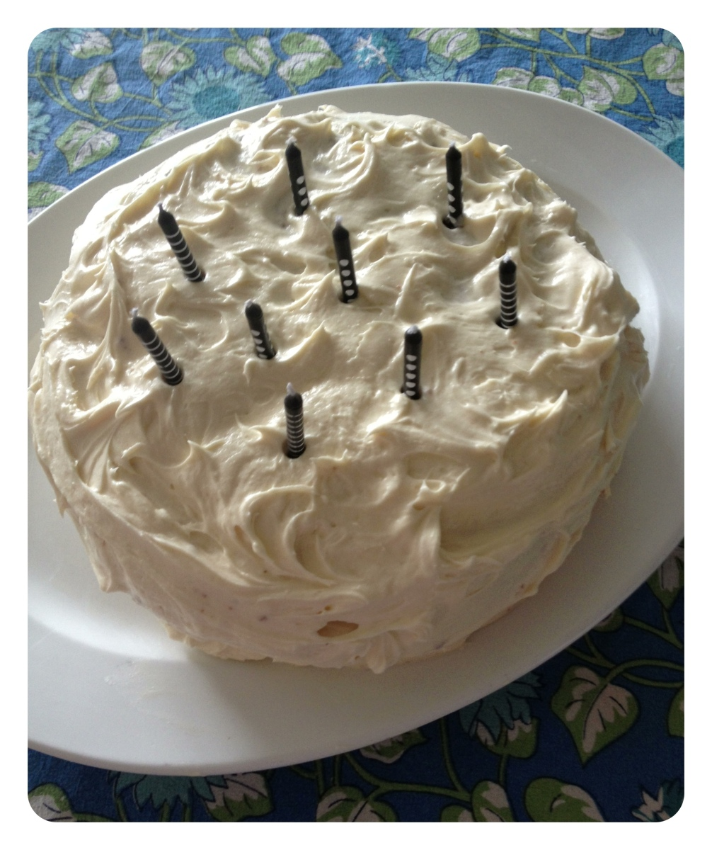A Birthday Carrot Cake