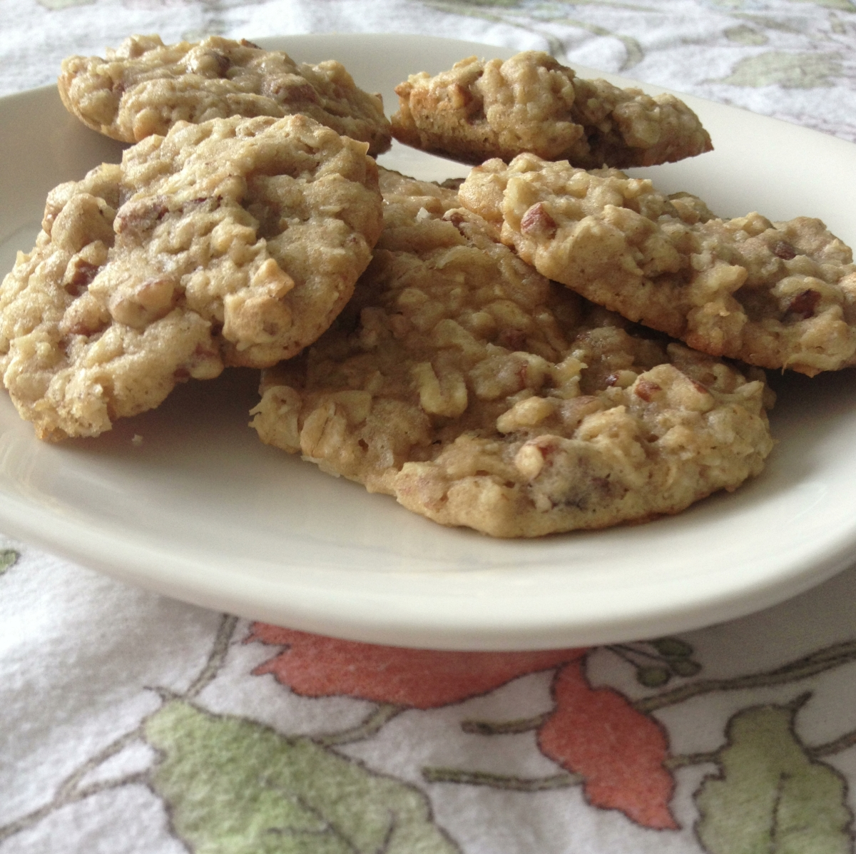 Oatmeal Coconut Pecan Dream Cookies