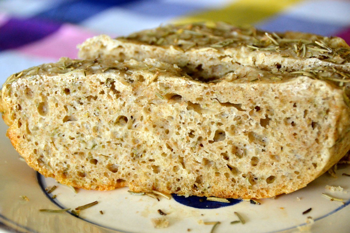 Focaccia Bread {in your Crockpot}