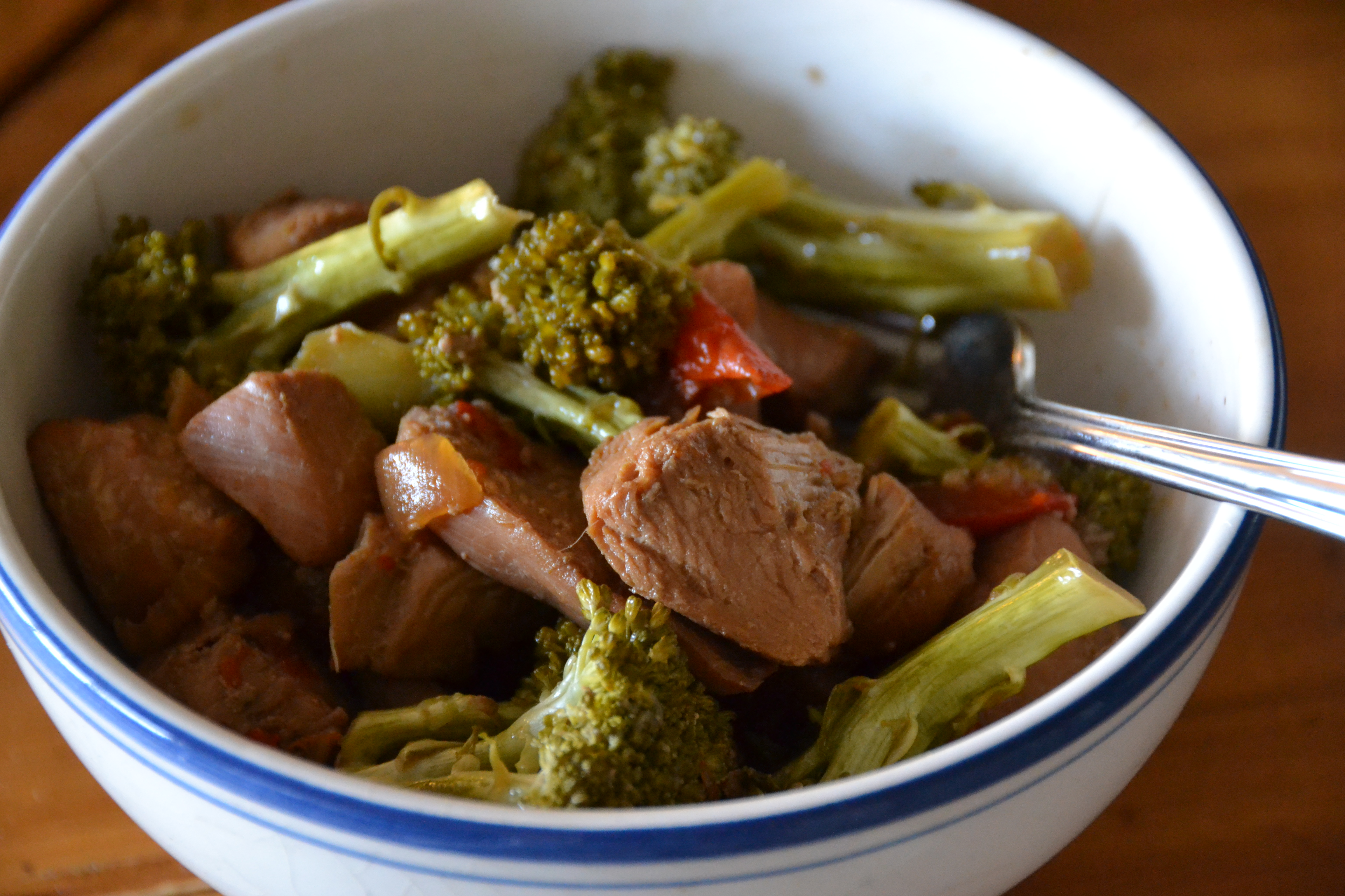 Chicken and Broccoli {in your Crockpot} | Sally Cooks