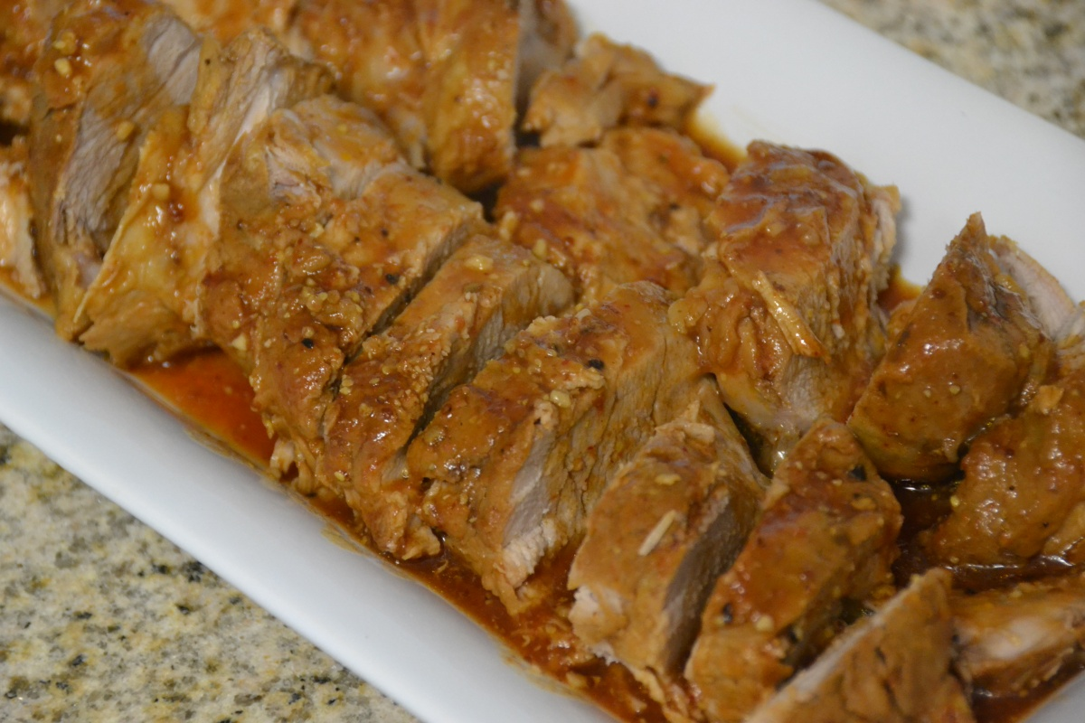 BBQ Pork Tenderloin {in your Crockpot}