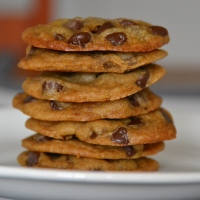 Soft Chocolate Chip Molasses and Coconut Oil Cookies {Dairy Free}