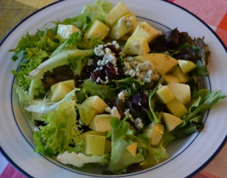 https://sallycooks.com/2013/11/03/apples-cranberries-and-blue-cheese-salad-with-a-cider-vinaigrette/