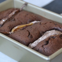 Chocolate Pear Loaf Cake