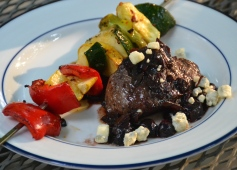 https://sallycooks.com/2014/06/10/grilled-steak-with-blueberry-balsamic-reduction-and-blue-cheese/