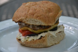 https://sallycooks.com/2014/06/17/turkey-burgers-with-spicy-pickle-sauce/