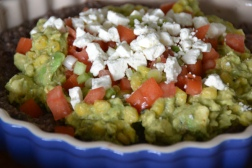 https://sallycooks.com/2014/01/27/layered-sweet-corn-guacamole-and-black-bean-dip/