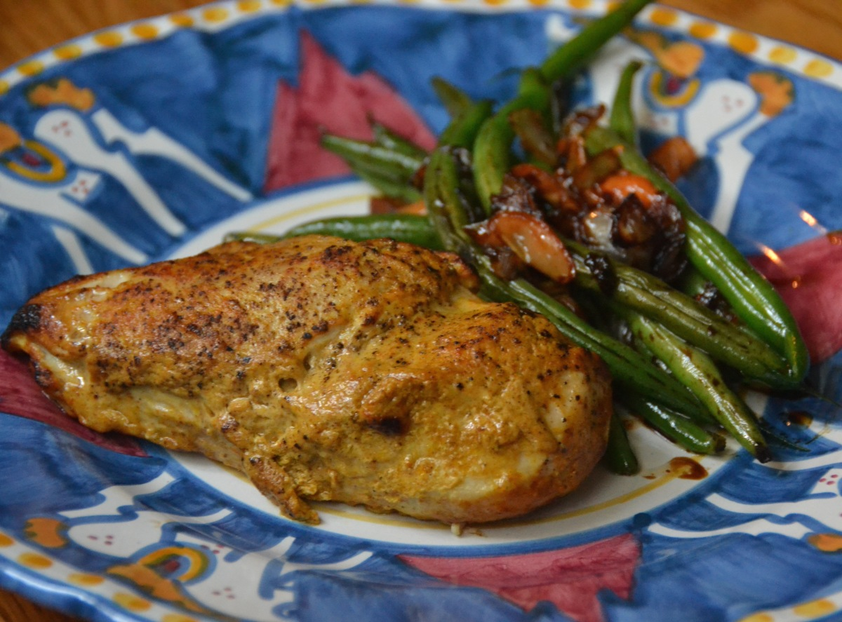 Ten-Minute Tandoori Chicken